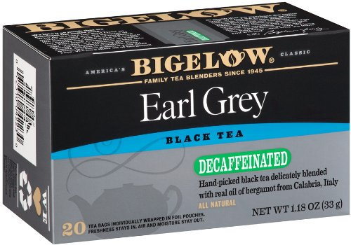 d Earl Grey Tea Bags, 20-Count Boxes (Pack of 6), Black Tea Bags, All Natural, Gluten Free, Rich in Antioxidants ()