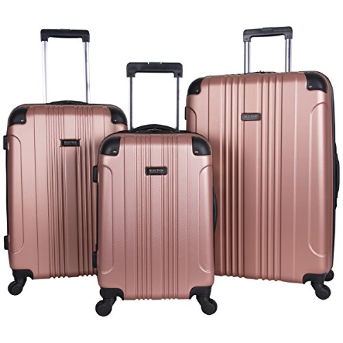 (Kenneth Cole Reaction Out Of Bounds 3-Piece Lightweight Hardside 4-Wheel Spinner Luggage Set: 20