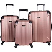 3-Piece Kenneth Cole Reaction Out of Bounds Abs 4-Wheel Luggage Set ( 20