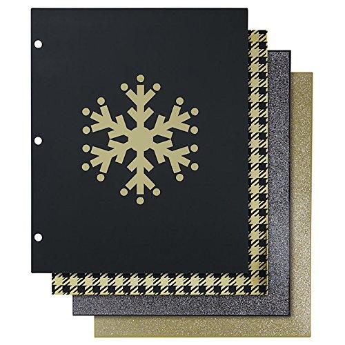 Divoga Fashion Paper Portfolio Folders, 8 1/2