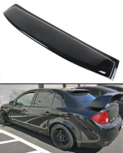 - Cuztom Tuning Fits for 2005-2010 Chevy Cobalt 4 Door Sedan Glossy Black Rear Window Roof Visor Spoiler