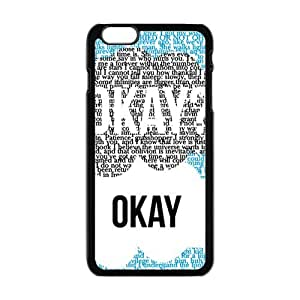 Creative design Okay letter Cell Phone Case for Iphone 6 Plus