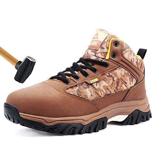 PEAK winter man anti-smashing anti-slipping steel toe boots with size 38-45