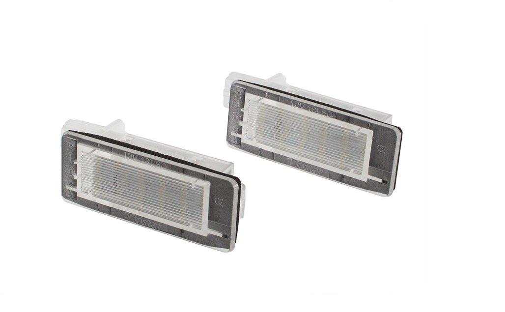 É clairage de plaque miné ralogique LED 1 Paire (2 lampes) Bluesport