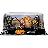 Disney Star Wars Exclusive Collectible Figures 6-Pack Return of the Jedi [Luke, Leia, C3P0, Jabba The Hut, Gamorrean Guard & Bib Fortuna ]