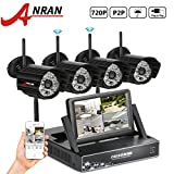 ANRAN 720P 4 Channel NVR With 7″ Monitor Wireless Security Camera System with 4 Outdoor 720P HD 48 IR for Night Vsion Security Camera No Hard drive Review
