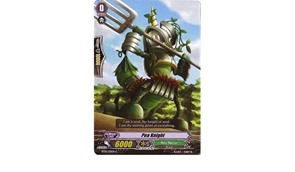 Amazon.com: Cardfight!! Vanguard TCG - Pea Knight (BT05 ...