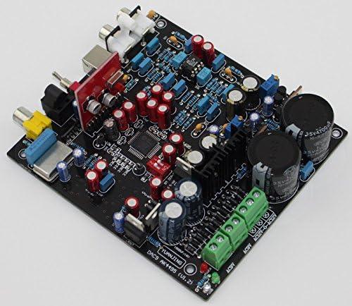 WM8805 drcoder board PCM2706+AD827 DAC decoder board Fiber Coaxial USB decoder board Bolsen AK4495SEQ