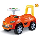 Baybee StreetRacer Ride-on Car (Orange)