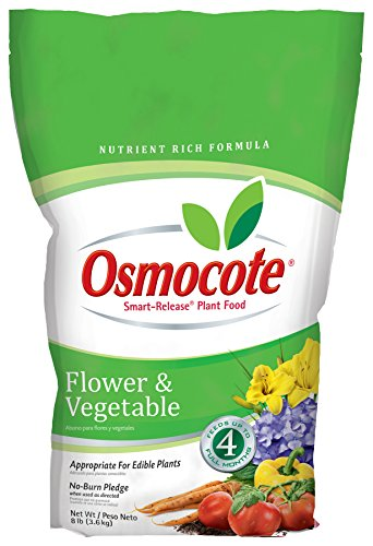 Osmocote Flower and Vegetable Smart-Release Plant Food, 8-Pound (Plant Fertilizer)