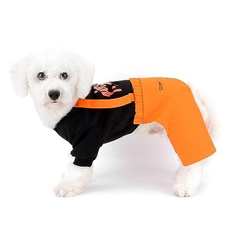 SELMAI Overalls Pantalones para Perros pequeños, Vaqueros ...
