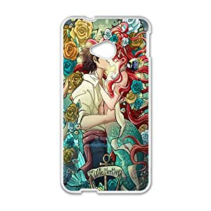 New Style Custom Picture The little mermaid Case Cover For HTC M7