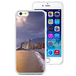 New Beautiful Custom Designed Cover Case For iPhone 6 4.7 Inch TPU With Town By The Sea (2) Phone Case