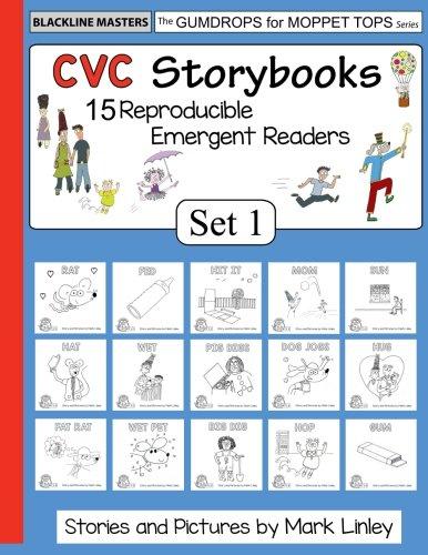 CVC Storybooks: SET 1: Teacher Edition -