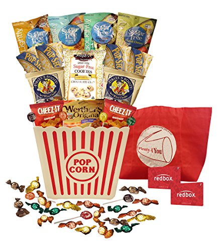 Plenty 4 You Ultimate Sugar Free, Guilt Free, Movie Night (Bucket Redbox Codes)