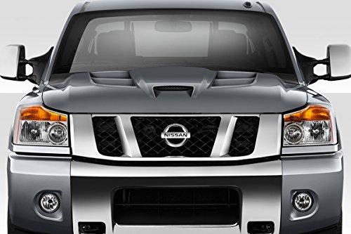 Duraflex ED-NNF-031 Viper Look Hood - 1 Piece Body Kit - Compatible For Nissan Titan 2004-2015