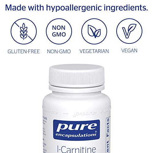 Pure Encapsulations - l-Carnitine - Hypoallergenic Supplement for Cardiovascular and Endurance Support* - 60 Capsules by Pure Encapsulations (Image #3)