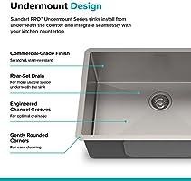 Kraus Khu100 26 Kitchen Sink 26 Inch Stainless Steel Amazon Sg Home Improvement