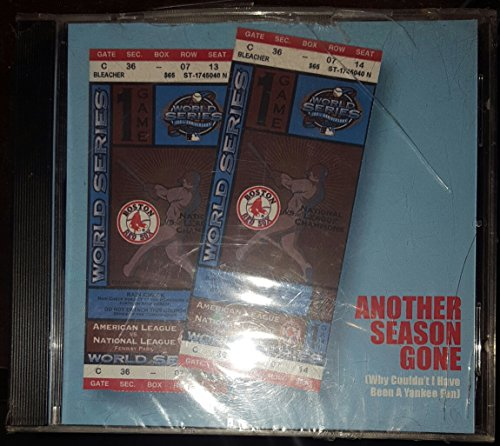 Boston Red Sox Another Season Gone CD Boston Red Sox Cd