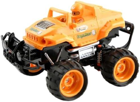 Build Rc Car >> Ninco Kid Racers Build Your Own Impulsor Rc Car Orange