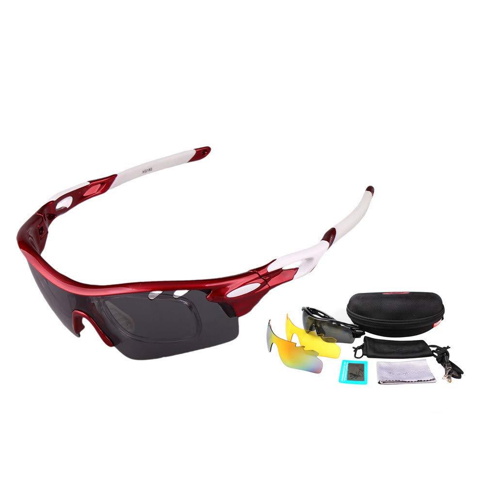 LLTS Radsportbrille Bunte polarisierte Sonnenbrille für den Außenbereich 3