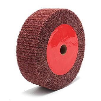 Amazon.com: Rueda de pulido abrasiva de fibra de nailon de ...