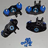 Traxxas Summit 1 10 Front and Rear Steering C-Hubs or Knuckles with Bearing (4)