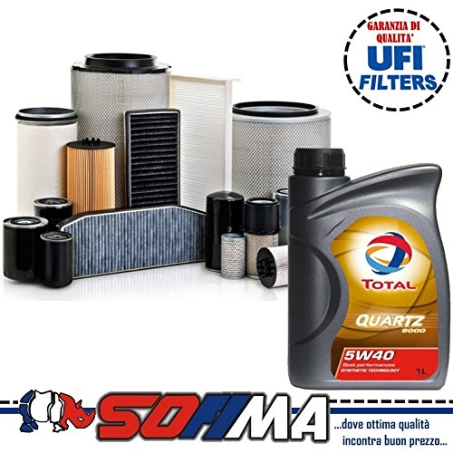 Kit Service 4 Filters + Oil Total: