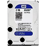 WD Blue 2TB PC Hard Drive - 5400 RPM Class, SATA 6 Gb/s, 64 MB Cache, 3.5' - WD20EZRZ
