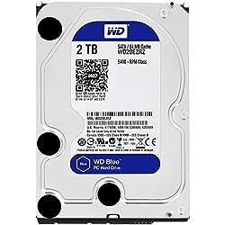 Wd Blue 2tb Desktop Hard Disk Drive - Sata 6 Gbs 64mb Cache 3.5 Inch - Wd20ezrz