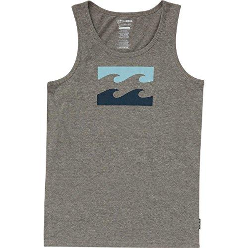 Wave Tank, Dark Grey Heather, M (Billabong Boys Clothing)