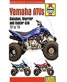 Yamaha ATVs Banshee, Warrior and Raptor 350 '87 to '10 (Haynes Service & Repair Manual)