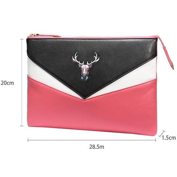Circlefly Cabeza de vaca crossbody bolsa bolso mujer cuero moda envolvente Prüne: Amazon.es: Hogar