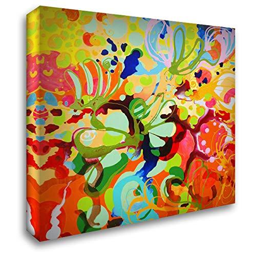 - Skylark 28x28 Gallery Wrapped Stretched Canvas Art by Siegmann, Sofie