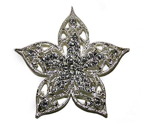 Success Creations USA Star Rhinestone Brooch Pin