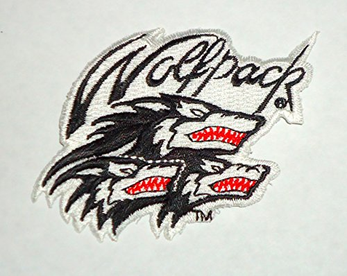 NCSU North Carolina State University NCAA COLLEGE WolfPack MASCOT Embroidered PATCH