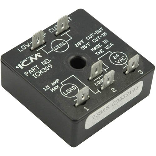 ICM Controls ICM309 Freeze Protection Module, Fixed Set Point, Off (Cut-Out) 28° F/On (Cut-In) 55° F