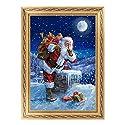 (デイリー スウィート) Daily Sweet DIY 絵画 ダイヤモンド絵画 樹脂 ラインストーン 絵画 貼れる サンタさん