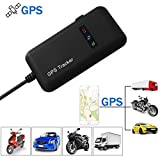 Car Tracker,Hangang Vehicle gps Trackers Vehicle GPS Tracker Real Time GPS Tracking Motorcycle Car Bike Antitheft GPS Tracking Device Locator GT02A