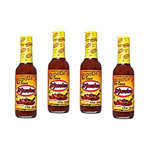 El Yucateco Chipotle Hot Sauce 5 oz. (4-Pack)