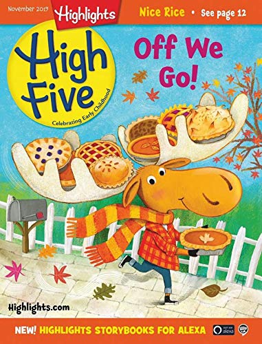 Highlights High Five (Best Magazine For 2 Year Old)