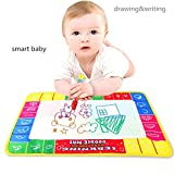 Four-color Magical Water Painting Mat, GreatestAPK 29X19cm Magic Pen Doodle Drawing Writing Gift