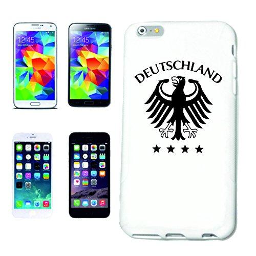"""cas de téléphone iPhone 6S """"FOOTBALL FOOTBALL Allemagne 2018 Coupe du Monde ALLEMAGNE CHAMPION DU MONDE RUSSIE RUSSIE demi-finale QUARTS DE FINALE"""" Hard Case Cover Téléphone Covers Smart Cover pour Ap"""