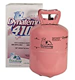 DynaTemp R-410A Refrigerant 25lb Jug Cylinder Virgin New Sealed