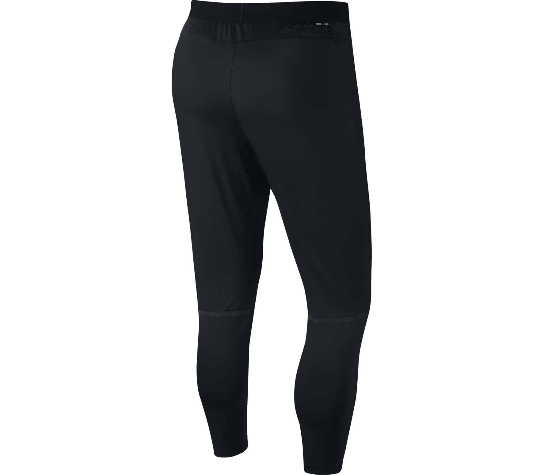 Nike Shield Swift Men's Running Pants (Black, Large)