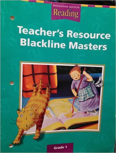 Houghton Mifflin Reading Teacher S Resource Blackline