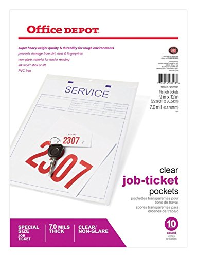 Top-Load Heavyweight Job Ticket Holder by [IN]PLACE, 9