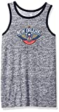 Outerstuff NBA NBA Youth Boys New Orleans Pelicans Baseline Tank, Grey, Youth Large(14-16)