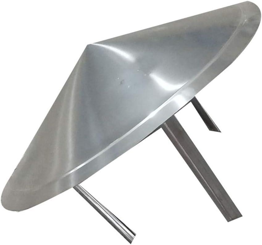 Amazon Com Lxltl Chimney Cowl Galvanised Steel Pipe Rain Cover Protector Cap Ending Roof Cowl For Ducting Ventilation Cap Rain Hat Hood 300mm Home Kitchen
