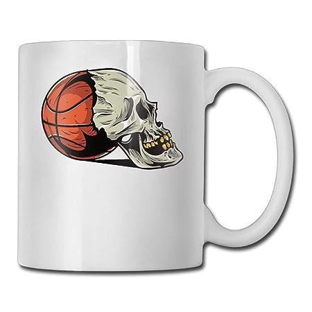Taza de café Baloncesto Cráneo Élad Tazas de café ...